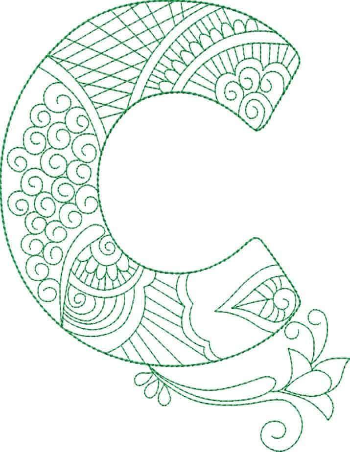 ZenDoodle Alphabet - CD ⋆ Gina Reddin Designs