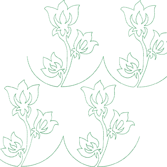machine embroidery continuous line quilting designs