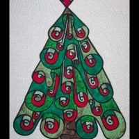 Oh Christmas Tree By Another By Anita Christmas Applique Quilt